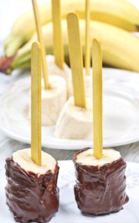 Bevroren-banaan-chocolade-saus