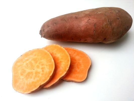 minst koolhydraatarme groenten zoete aardappel